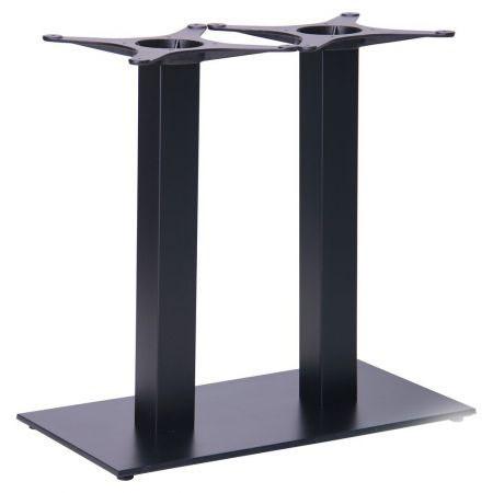 Опора для стола - База Афина New, двойная черная (Double SB-SR58S)