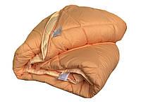 Ковдра Dophia Double Somon нанофайбер 195-215 * 2 см персикове