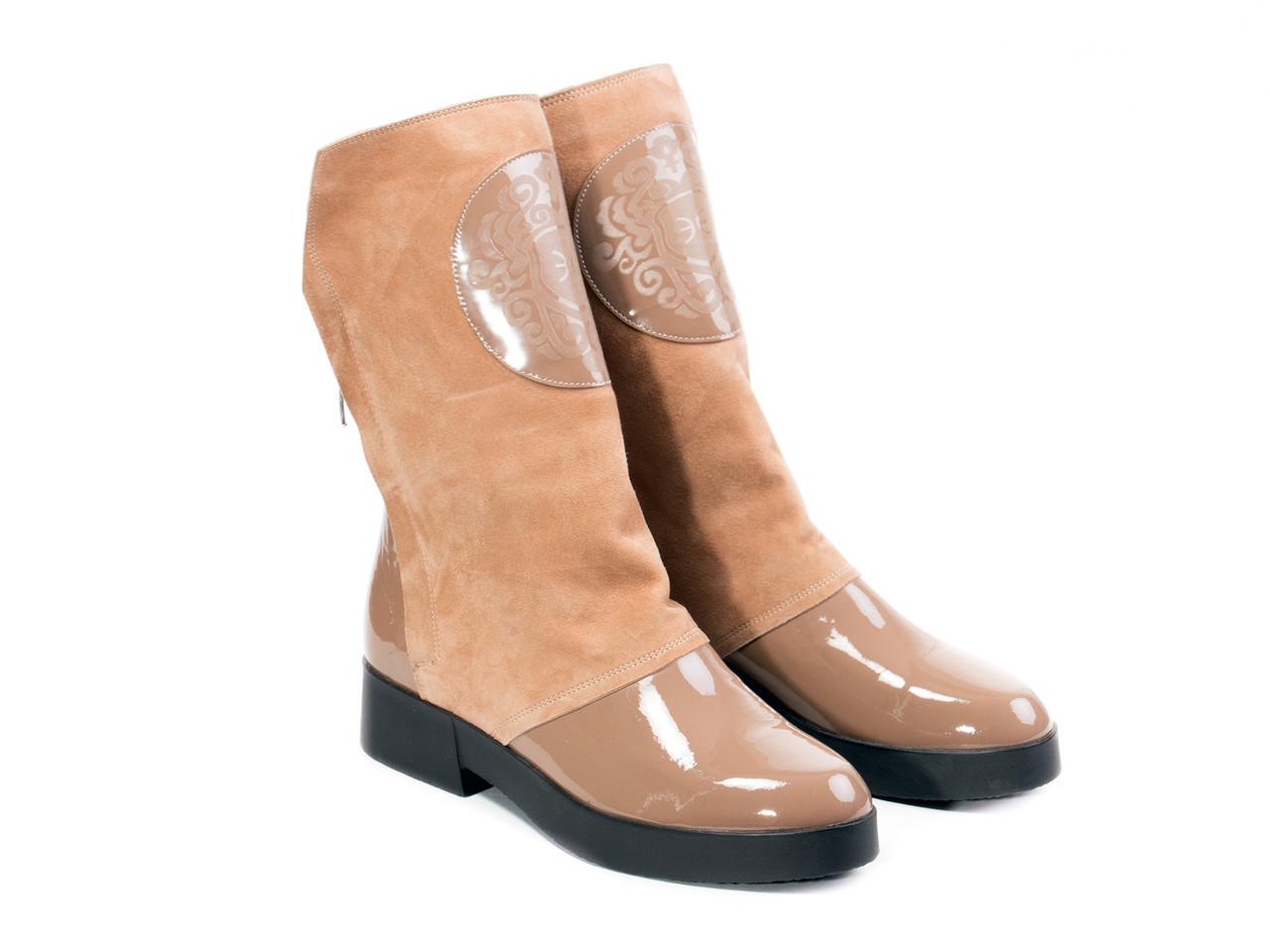 Ботинки Etor 4937-7235 37 бежевые