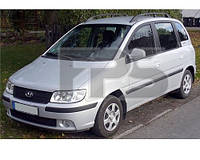 Боковое стекло задней двери Hyundai Matrix '01-10 левое (SEKURIT)