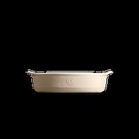 Форма для запекания Emile Henry овальная 27*17,5 см кремовая 029050