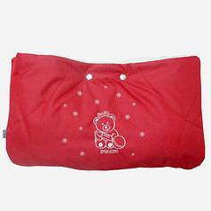 Муфта с прихватками Baby Breeze красный 0315-402