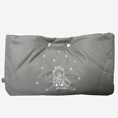 Муфта с прихватками Baby Breeze графит 0315-405
