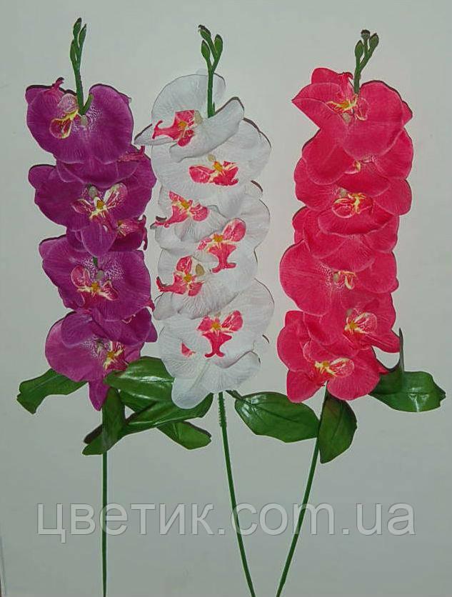М-365 Ветка орхидей малая 7 голов 65х8 см