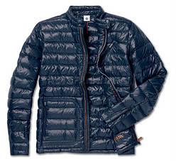 Оригинальная мужская пуховая куртка BMW Blue (80142454604)