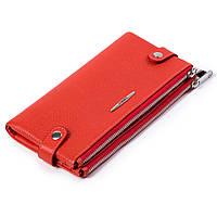 Женский кошелек  кожаный оранжевый Eminsa 2117-18-26, фото 1