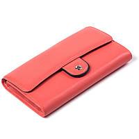Женский кошелек кожаный коралловый Eminsa 2096-12-25, фото 1