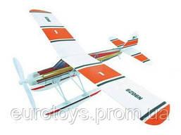 Самолёт (гидроплан) резиномоторный ZT Model Aviator 460мм