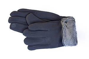 Мужские зимние перчатки + кролик  Сенсорные Средние, фото 2