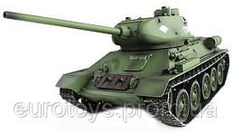 Танк р/у 2.4GHz 1:16 Heng Long T-34 с пневмопушкой и дымом (HL3909-1)