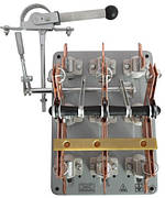 Рубильник переключатель ПЦ 400А правый смещенный привод