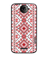 Чехол для HTC One X S720e (Вышиванка)