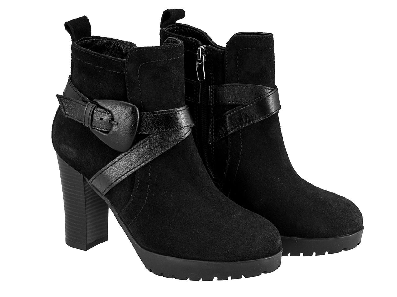 Ботинки Etor 1438-1088 36 черные