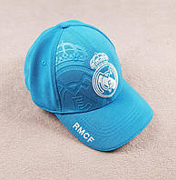 Футбольная кепка Реала (бирюзовая)