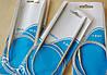 Спицы для вязания 9 мм на тросике 40 см