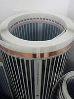 Инфракрасная пленка нагревательная под ламинат(с антиискровой сеткой) Премиум 100 см