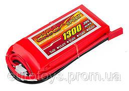 Аккумулятор для радиоуправляемой модели Dinogy Li-Pol 1300 мАч 7.4 В 73x35x17 мм JST 30C