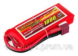Аккумулятор для радиоуправляемой модели Dinogy Li-Pol 1800 мАч 7.4 В 95x35x17 мм T-Plug 30C
