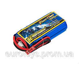 Аккумулятор для радиоуправляемой модели Giant Power (Dinogy) Li-Pol 1500 мАч 7.4 В 19x32x61 мм JST 25C