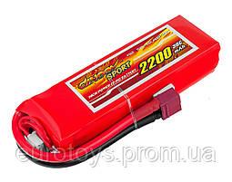Аккумулятор для радиоуправляемой модели Dinogy Li-Pol 2200 мАч 11.1 В 110x36x22 мм T-Plug 30C