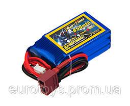 Аккумулятор для радиоуправляемой модели Giant Power (Dinogy) Li-Pol 850 мАч 11.1 В 21x30x54 мм T-Plug 50C