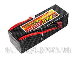 Аккумулятор для радиоуправляемой машинки Dinogy Li-Pol 7200 мАч 11.1 В Hardcase 41x46x138 мм T-Plug 30C