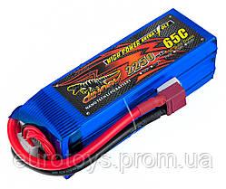 Аккумулятор для радиоуправляемой модели Dinogy Li-Pol 2250 мАч 14.8 В 106x35x33 мм T-Plug 65C
