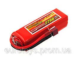 Аккумулятор для радиоуправляемой модели Dinogy Li-Pol 2200 мАч 14.8 В 29x34x104 мм T-Plug 30C