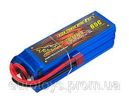 Аккумулятор для радиоуправляемой модели Dinogy Li-Pol 3300 мАч 22.2 В 43x42x133 мм T-Plug 65C