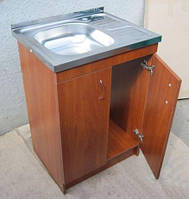 Кухонная мойка с тумбой 60 х 60см