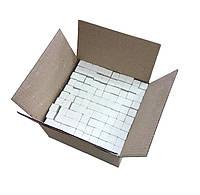 Мел школьный белый МАКСИ, 100 шт., 19х19х100 мм, 3 кг, коробка из гофрокартона