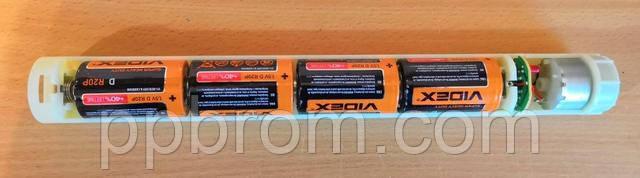 пластмассовый держатель батареек