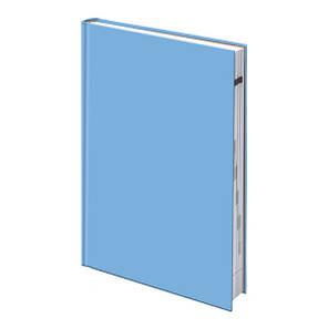 Ежедневник недатированный А5 BRUNNEN MIRADUR Trend Агенда голубой, фото 2
