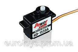 Сервопривод микро 5.5г Power HD 1550A 0,9кг/0,12сек