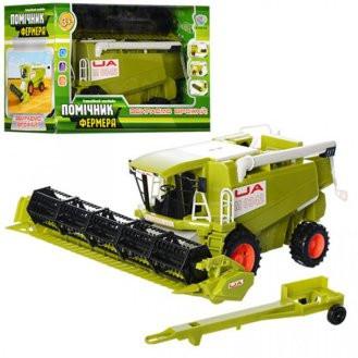 Игрушка для мальчика Комбайн 0342 U/R Помощник фермера, в кор-ке, 31-20-15,5 см