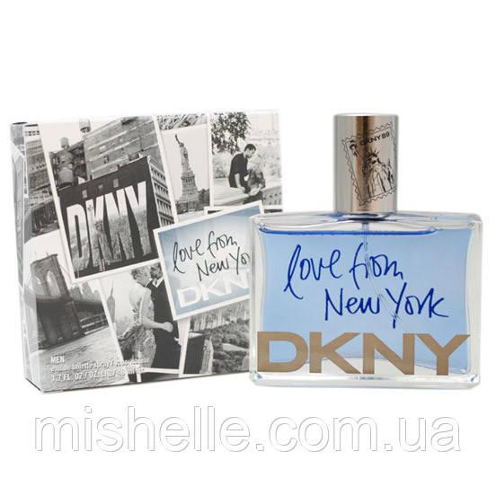 Мужской парфюм Donna Karan Love From New York Men (Донна Каран Лав Фром Нью Йорк Мен) реплика