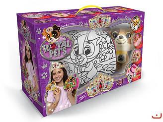 """Набор для креативного творчества Royal Pets 5в1 сумочка-раскраска + игрушка """"Собачка"""""""