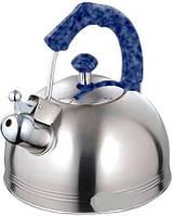 Чайник из нержавеющей стали со свистком 3,5 л MR 1310
