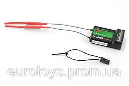 Приёмник 10-канальный FlySky FS-iA10B AFHDS 2A с телеметрией, i-BUS, PPM