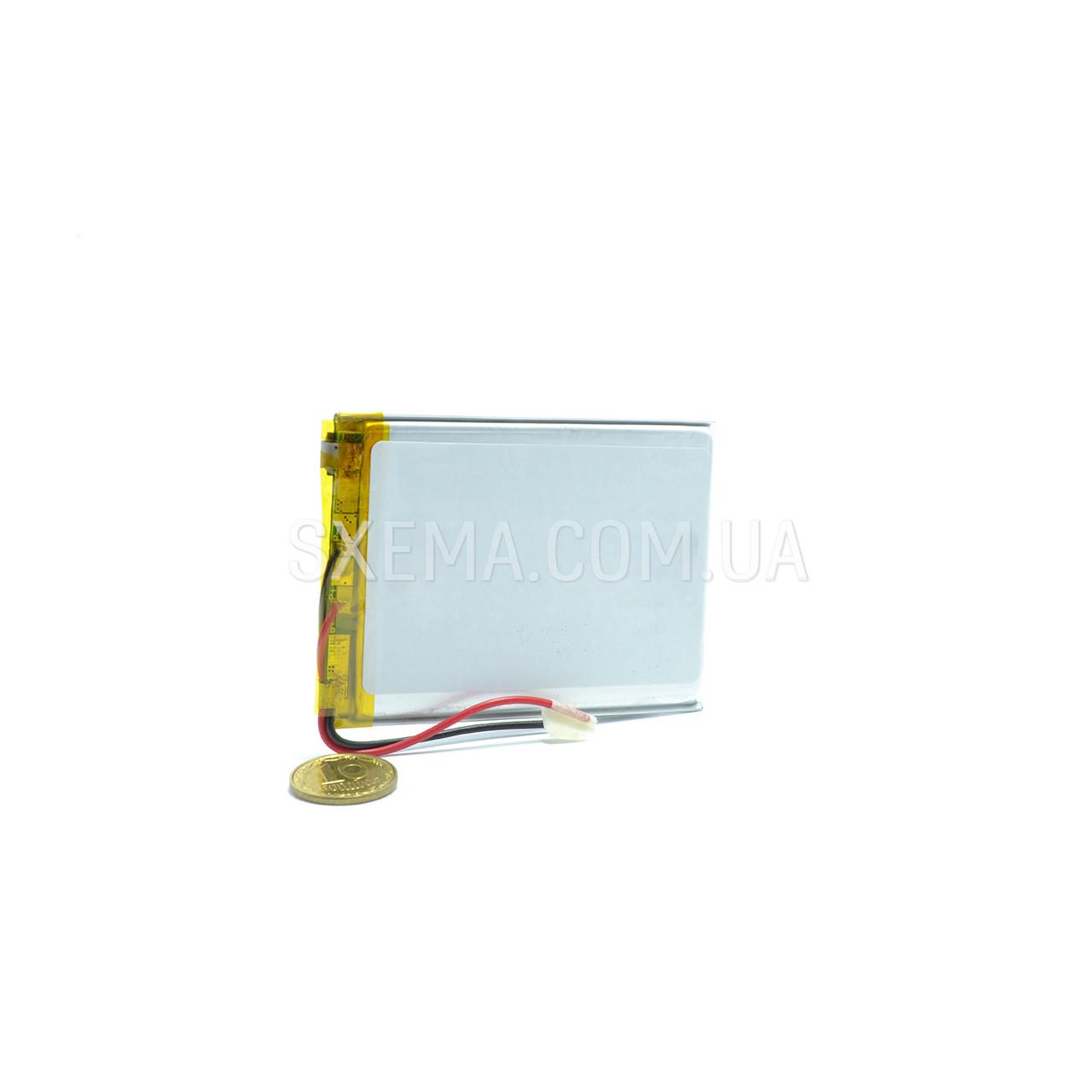 Аккумулятор универсальный 045070 (Li-ion 3.7В 2500мА·ч), (70*50*4 мм)