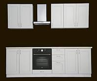 Кухня Женева белая 2600 мм