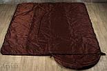 Тактический спальный мешок (армейский спальник, до -5) для похода весна и осень, фото 2