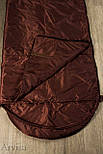 Тактический спальный мешок (армейский спальник, до -5) для похода весна и осень, фото 3