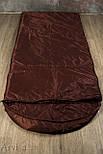 Тактический спальный мешок (армейский спальник, до -5) для похода весна и осень, фото 4