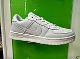 Чоловічі кросівки в стилі Air Force 1 Low whate, фото 3