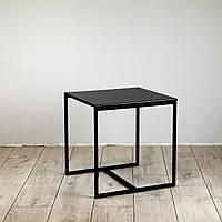 Стол журнальный Куб 400/450 Антрацит - черный (Cub 400/450 Black-black)