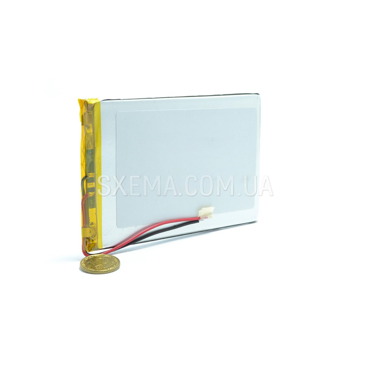 Акумулятор універсальний 046095 (Li-ion 3.7 В 3500мА·год), (95*60*4 мм)
