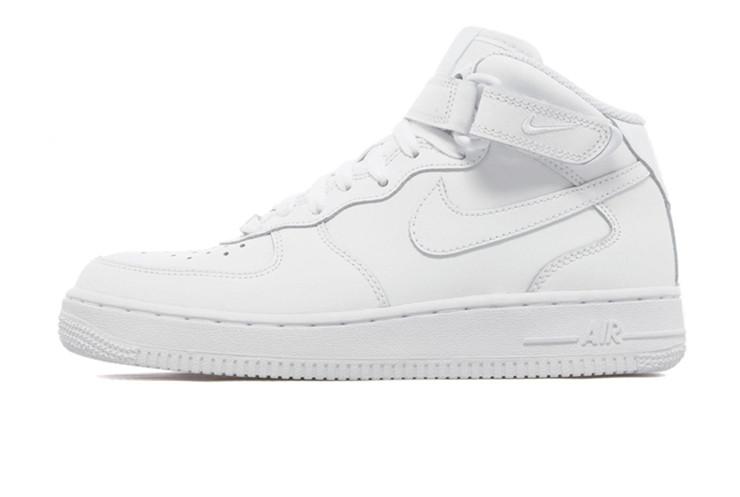 c4ce9f9c Зимние Женские кроссовки Nike Air Force Winter White (Натуральная кожа +  Мех) (Реплика ААА+)