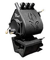 Отопительная конвекционная печь Rud Pyrotron Кантри 00 (для помещения 40 кв.м.) с обшивкой черной