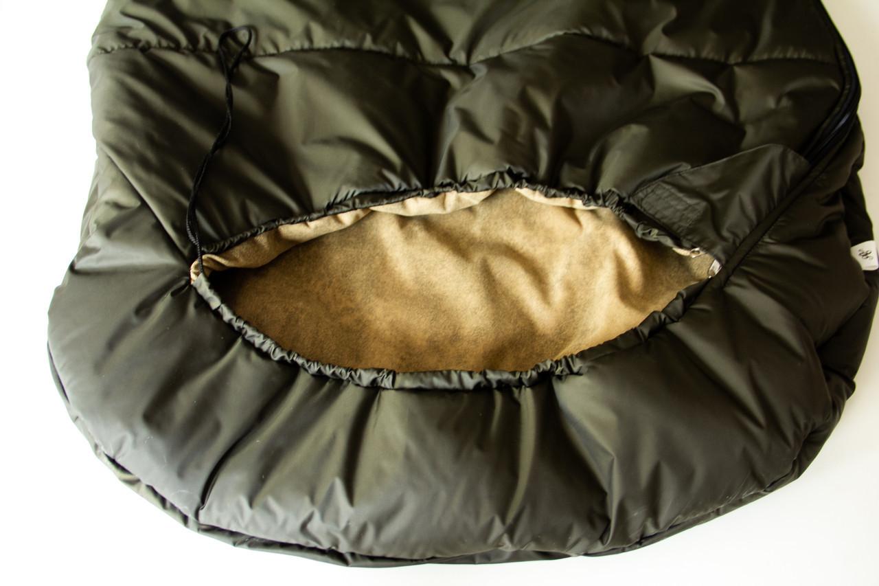 Спальный мешок кокон (микрофибра, до -15) спальник туристический для похода, для холодной погоды!